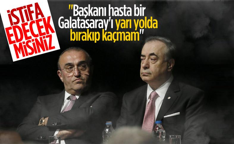 Abdurrahim Albayrak: Ben Galatasaray'ı yarı yolda bırakmam