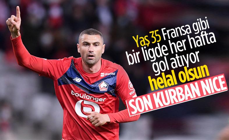 Burak Yılmaz Nice'e de gol attı