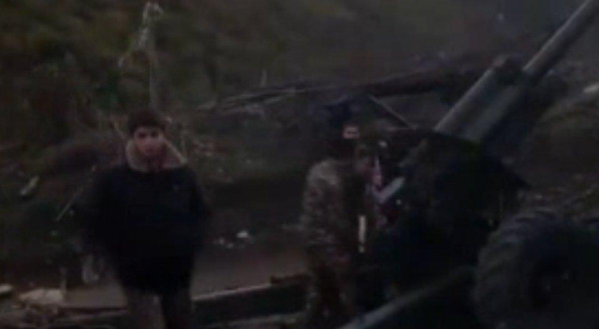 Ermenistan ordusu çocuk askerleri kullanıyor #3