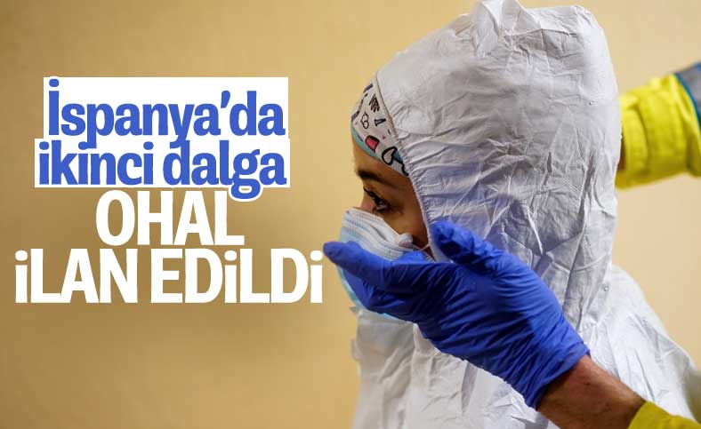 İspanya'da ikinci dalga: OHAL ilan edildi