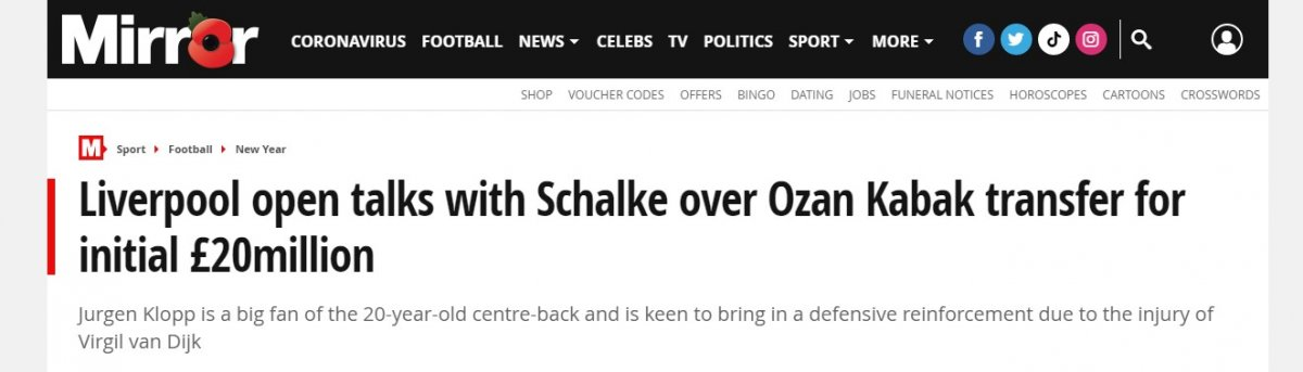 Liverpool un Ozan Kabak hamlesi #2