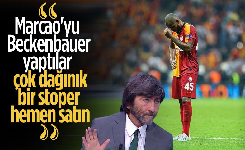 Rıdvan Dilmen: Marcao normal bir futbolcu