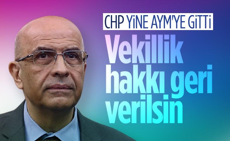 CHP, Enis Berberoğlu için AYM'ye başvurdu