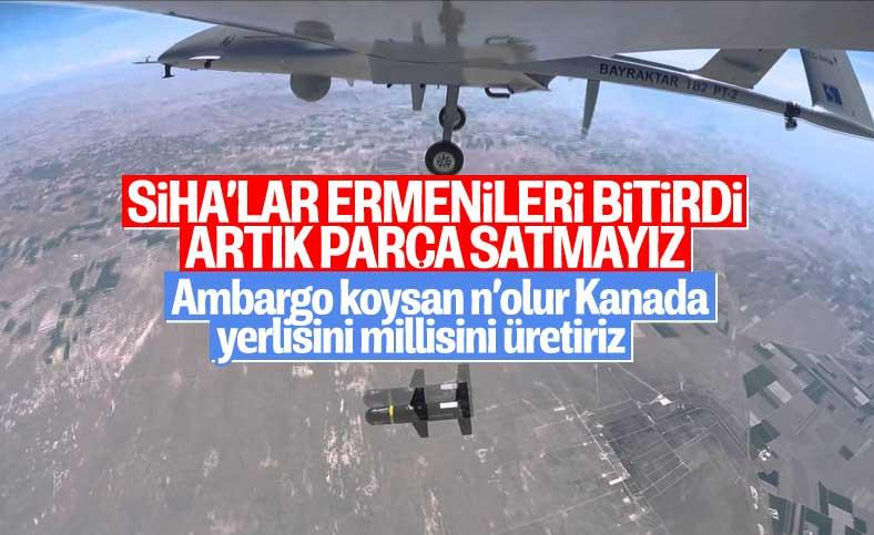 İHA motorunu üreten Kanadalı şirketten Türkiye'ye ambargo