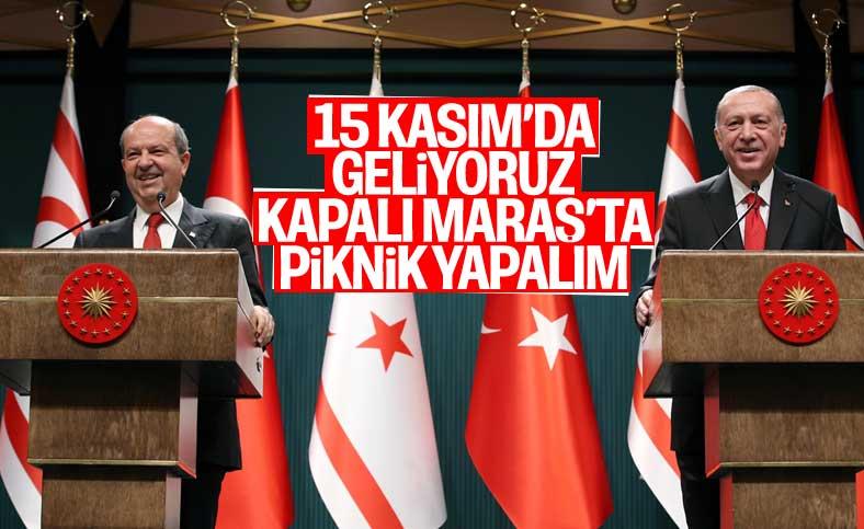 Cumhurbaşkanı Erdoğan: Kapalı Maraş'ta bir piknik yapabiliriz