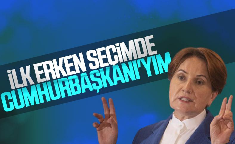 Meral Akşener: İlk seçimde İyi Parti iktidar olacak