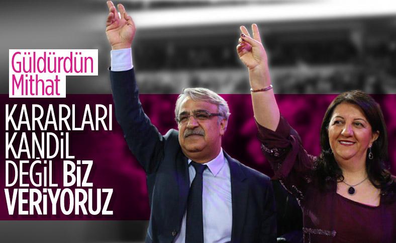 Mithat Sancar: HDP Kandil'den emir almaz