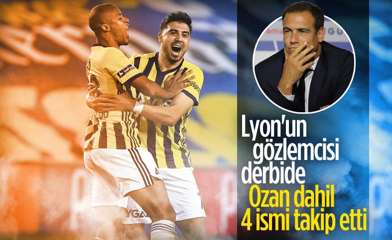 Lyon'un gözlemcisi Fenerbahçe-Trabzonspor maçını izledi
