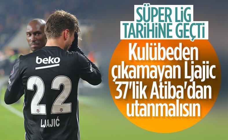 Denizlispor'a gol atan Atiba rekor kırdı