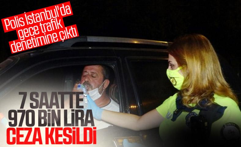 İstanbul'da 7 saatte 1869 sürücüye 969 bin 143 lira ceza kesildi