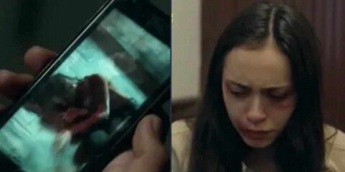 Çukur dizisinde Aleyna Çakır sahnesi #2