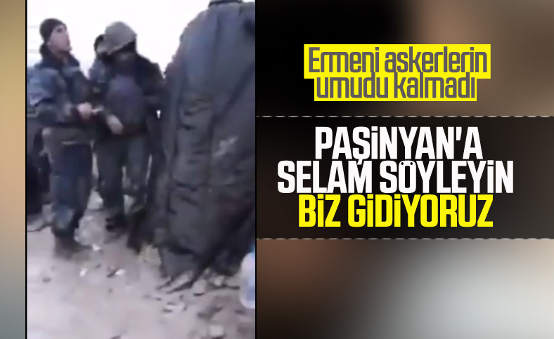 Ermeni askerler cepheyi terk etti