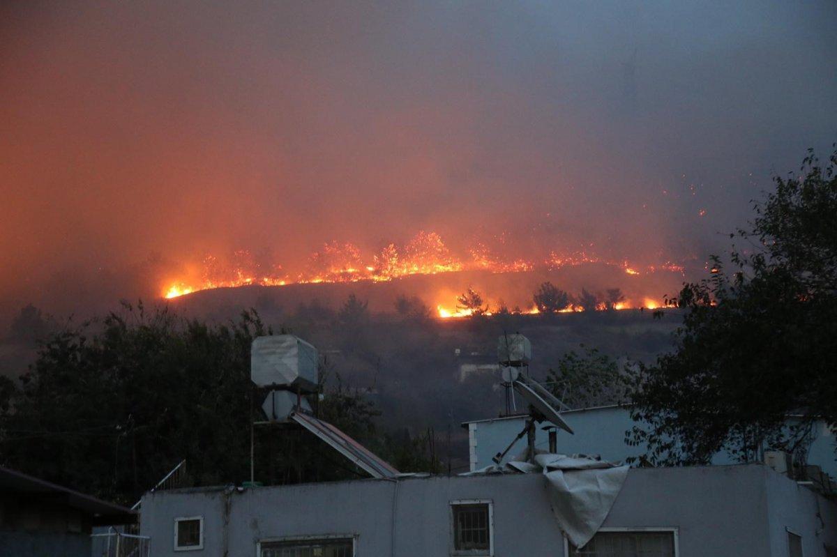 Hatay da bir günde 4 farklı noktada orman yangını #7