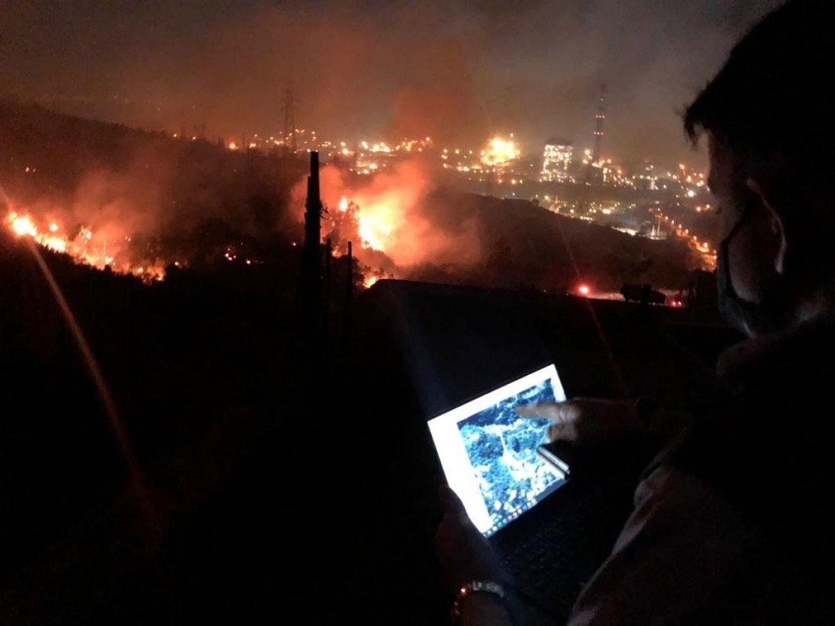 Hatay da bir günde 4 farklı noktada orman yangını #5