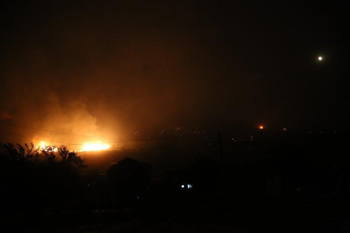 Hatay da bir günde 4 farklı noktada orman yangını #6