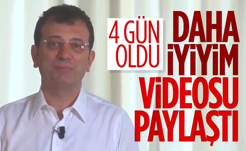 İBB Başkanı Ekrem İmamoğlu, sağlık durumu ile ilgili açıklama yaptı