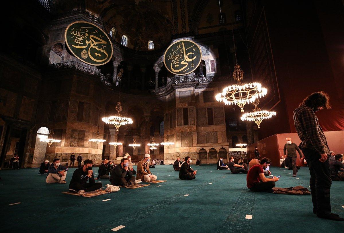 Ayasofya Camii nde 86 yıl sonra Mevlit Kandili  #7
