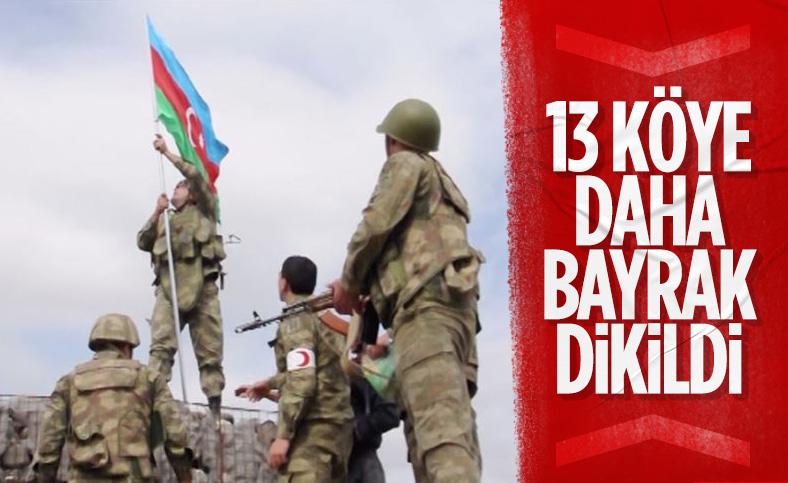 Azerbaycan, 13 köyü daha işgalden kurtardı