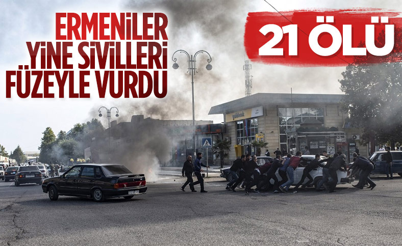 Ermenistan ordusu, Berde şehrini vurdu