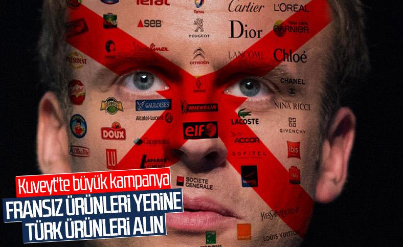Kuveyt'ten Fransız ürünleri yerine Türk ürünlerine teşvik kampanyası