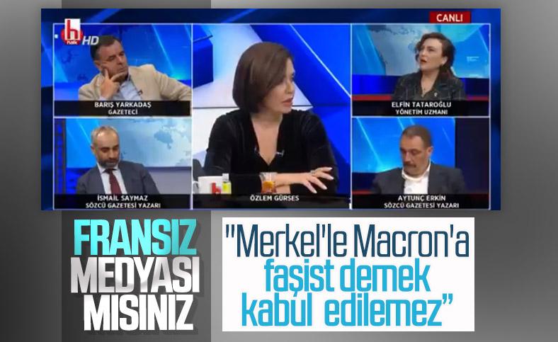 Halk TV'de Fransa karşısında Cumhurbaşkanı Erdoğan'a suçlama