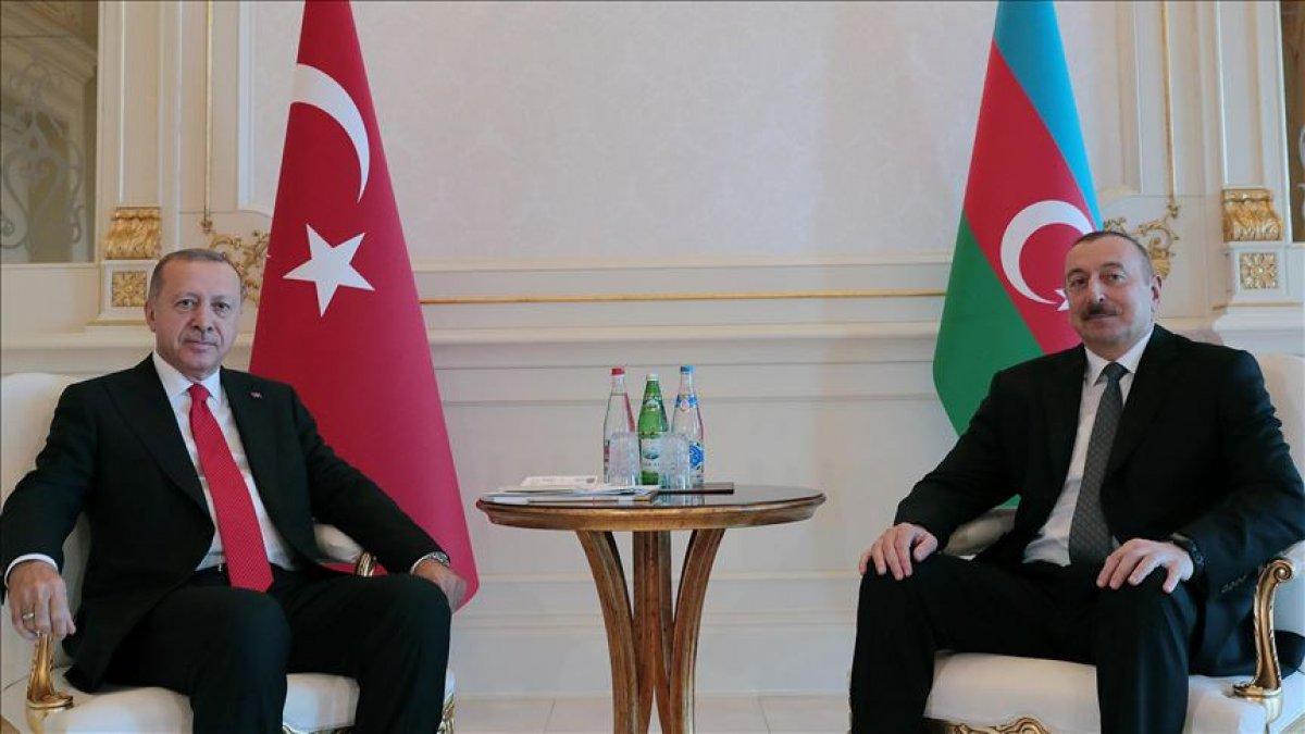 İlham Aliyev, Cumhurbaşkanı Erdoğan ı arayarak Cumhuriyet Bayramı nı kutladı #1