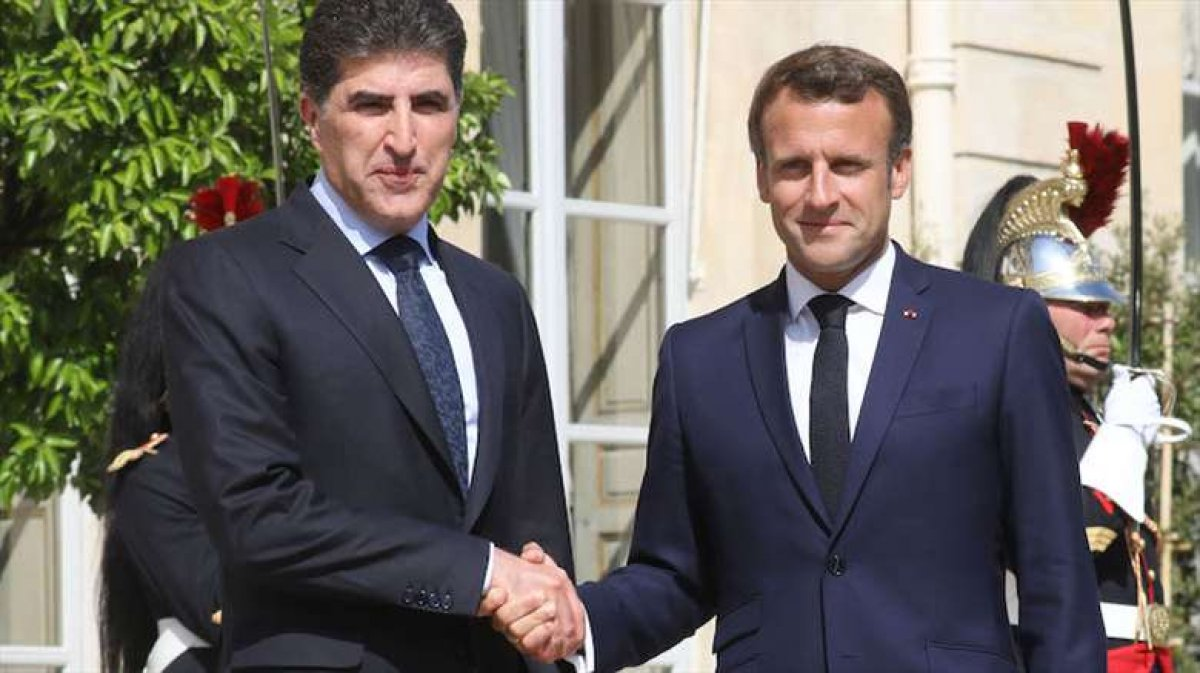 Barzani Macron