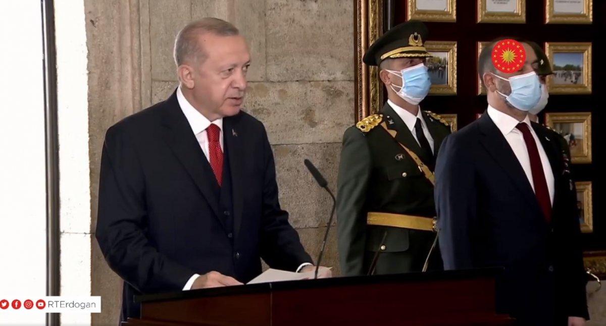 Cumhurbaşkanı Erdoğan: Saldırılar mücadele azmimizi güçlendirmektedir #1