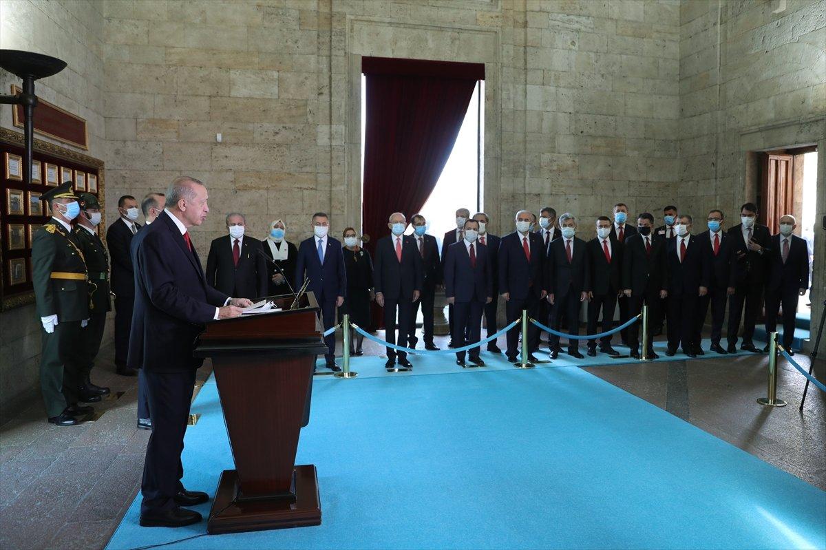 Cumhurbaşkanı Erdoğan: Saldırılar mücadele azmimizi güçlendirmektedir #2