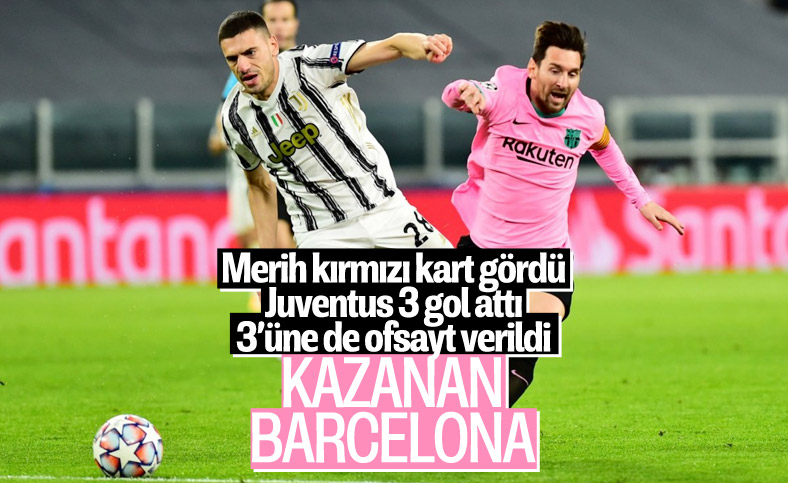 Barcelona Şampiynlar Ligi'nde Juventus'u evinde yendi