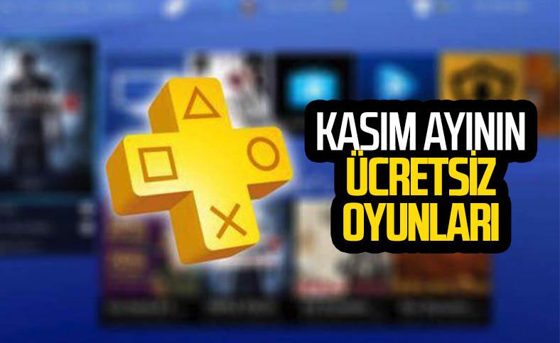 PlayStation Plus abonelerine kasımda ücretsiz olacak oyunlar