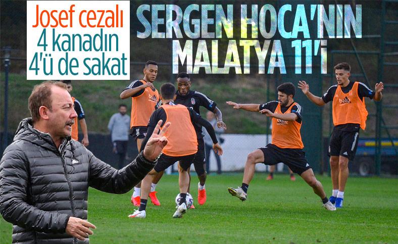Sergen Yalçın'ın Yeni Malatyaspor maçı 11'i