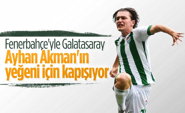 Ali Akman için Fenerbahçe ve Galatasaray devrede