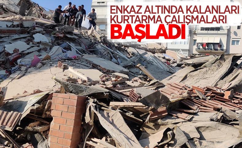 İzmirliler enkaz altında kalanların yardımına koştu