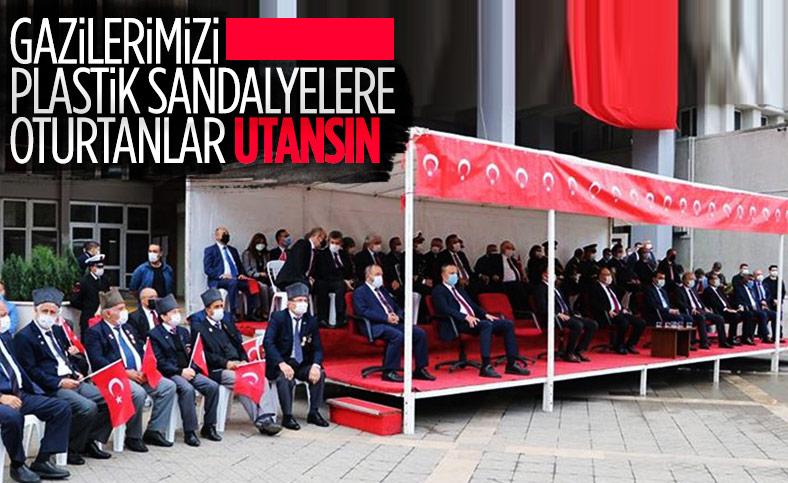 Zonguldak'ta gazilere protokol ayıbı