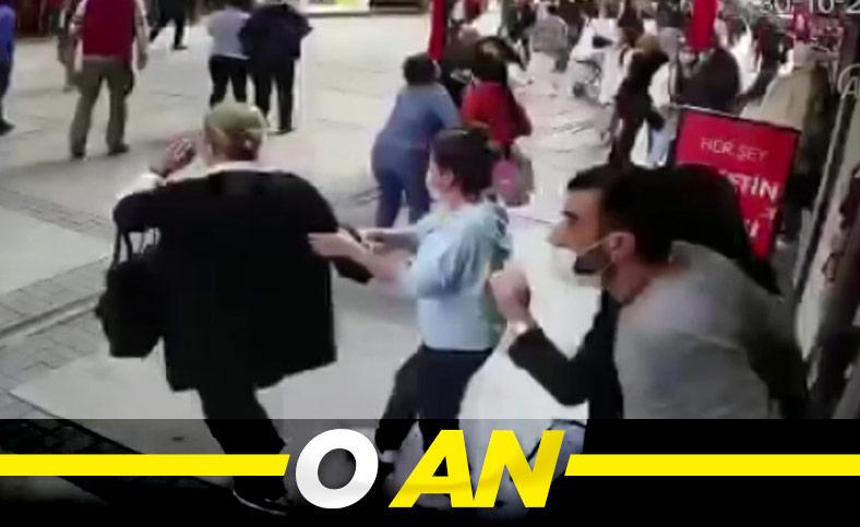 İzmir'deki deprem anı