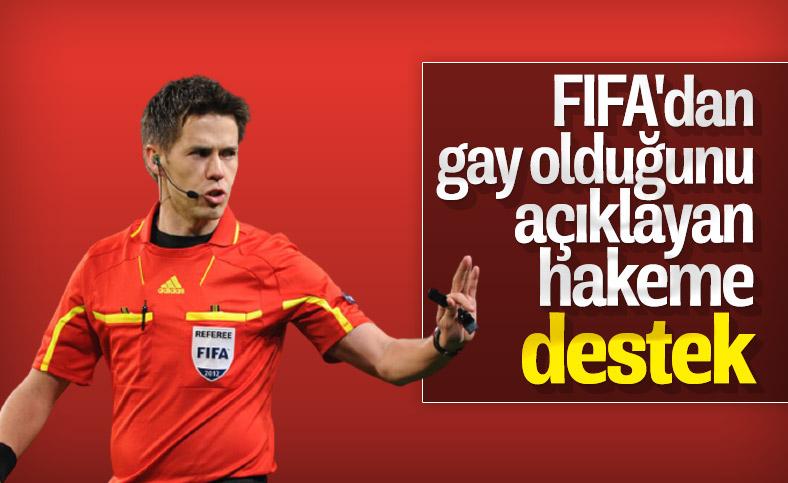 FIFA gay hakem Hagen'e desteğini açıkladı