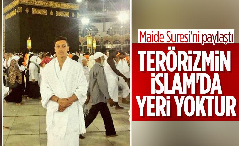 Mesut Özil: Terörizmin İslam'da yeri yoktur