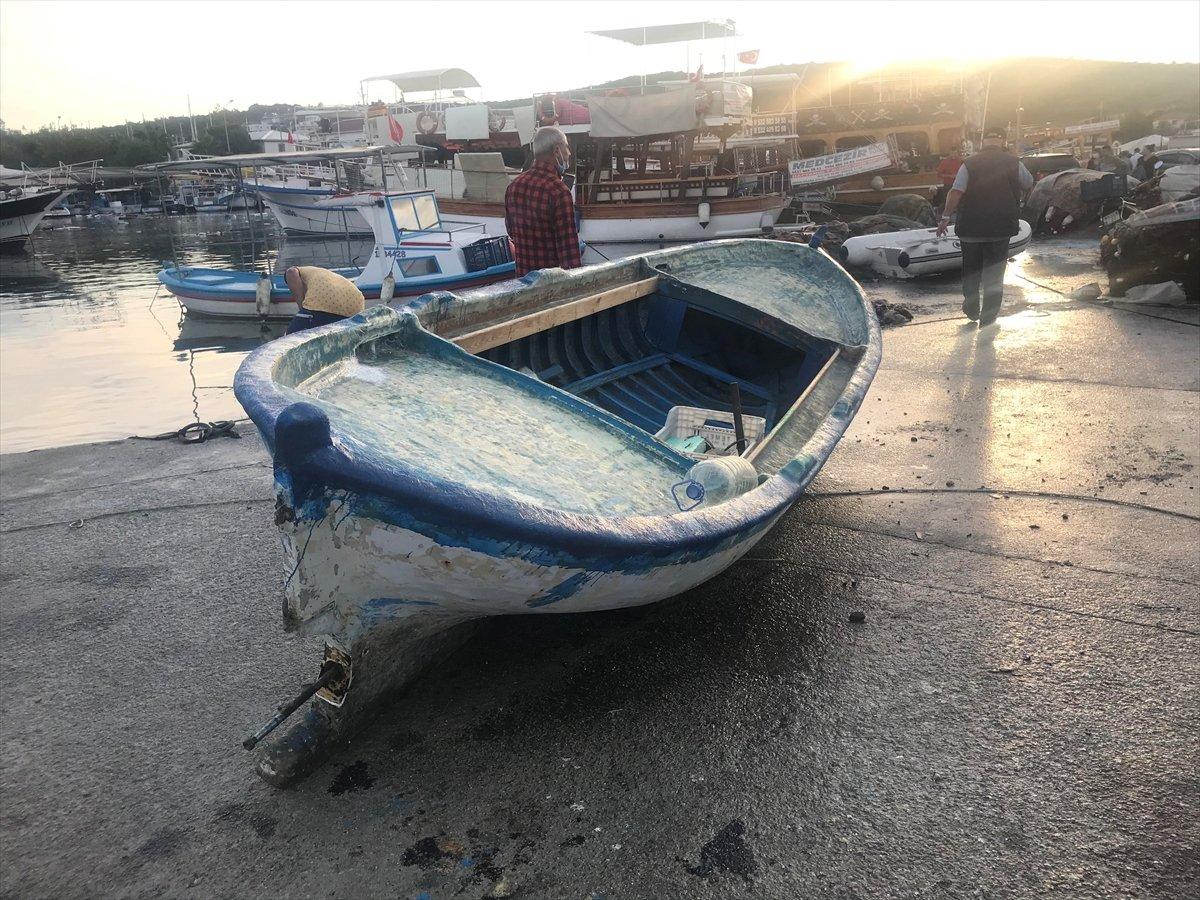 Seferihisar da tekneler zarar gördü  #5