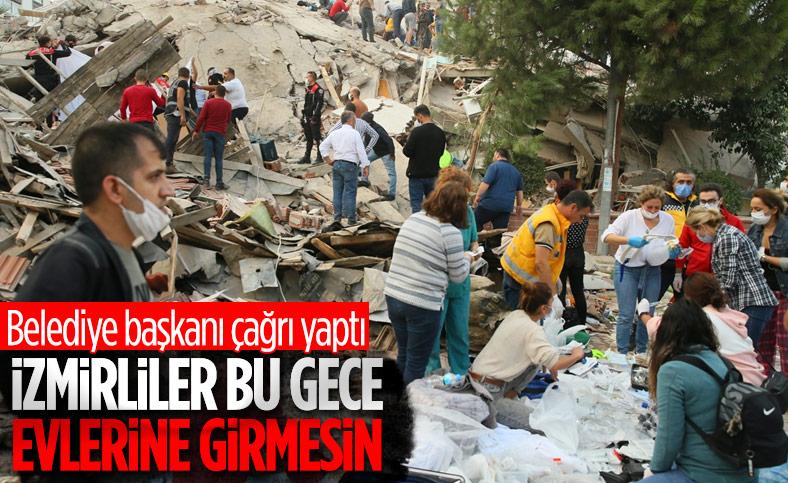 Tunç Soyer'den İzmirlilere geceyi dışarıda geçirin çağrısı