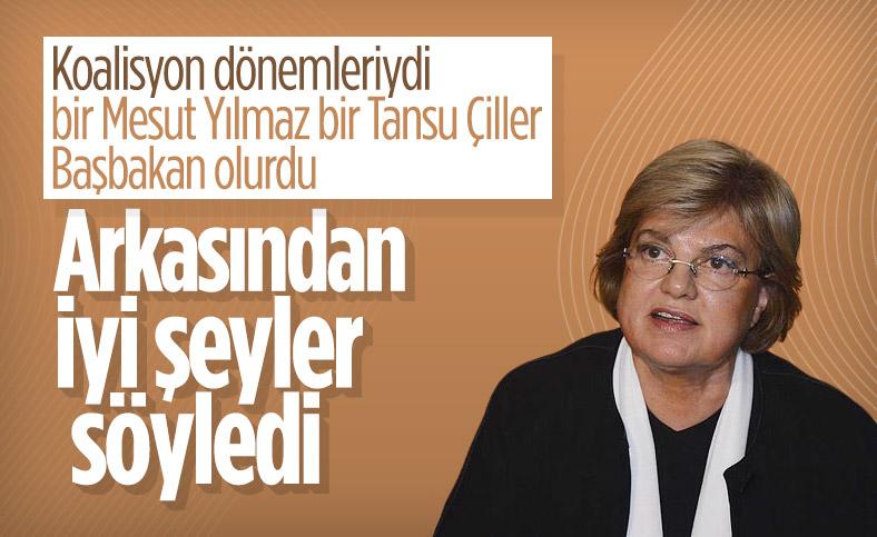 Tansu Çiller Mesut Yılmaz'ı andı