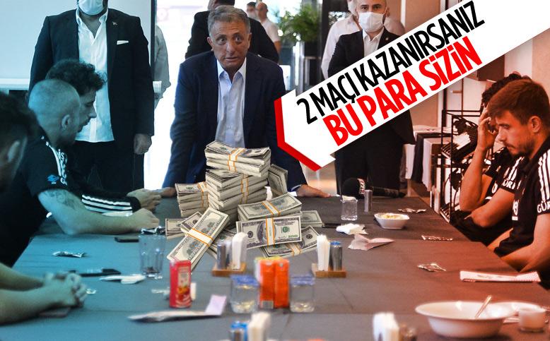 Ahmet Nur Çebi'den takıma para dopingi