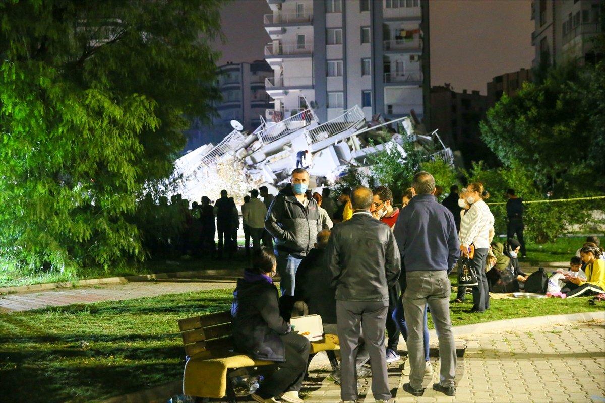 İzmir de 211 artçı deprem yaşandı #4