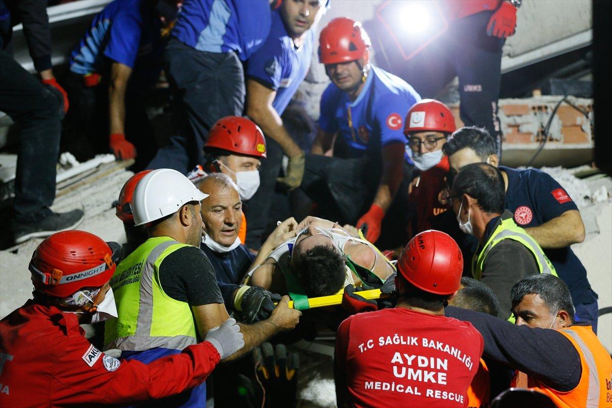 İzmir de 211 artçı deprem yaşandı #2