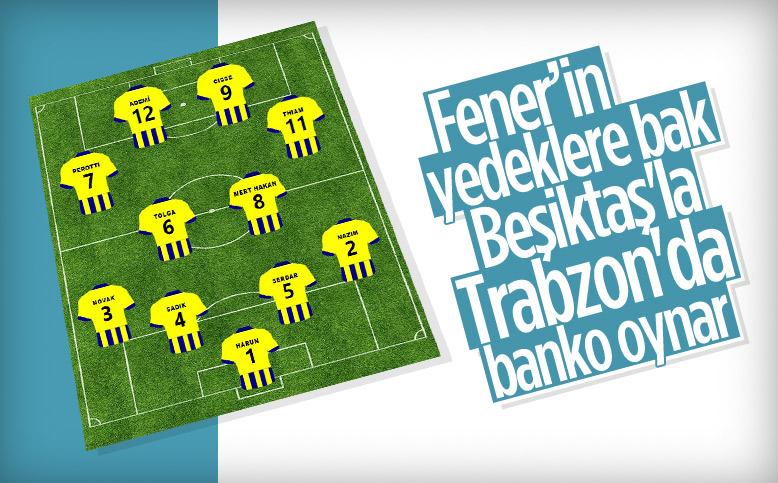 Fenerbahçe'nin yedekleri göz kamaştırıyor