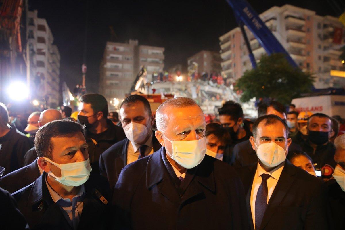 Cumhurbaşkanı Erdoğan, deprem bölgesinde inceleme yaptı #3