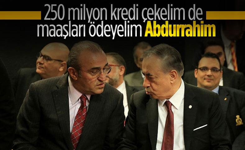 Galatasaray'da maaşlar kredi ile ödenecek