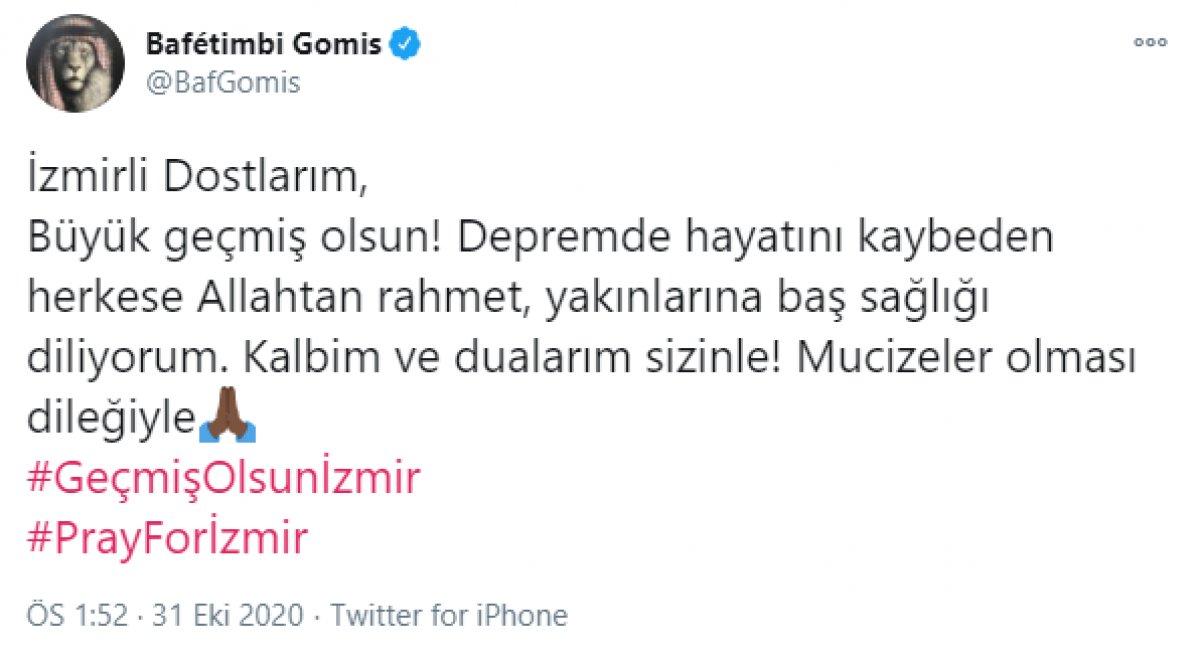Bafetimbi Gomis ten İzmir mesajı #1