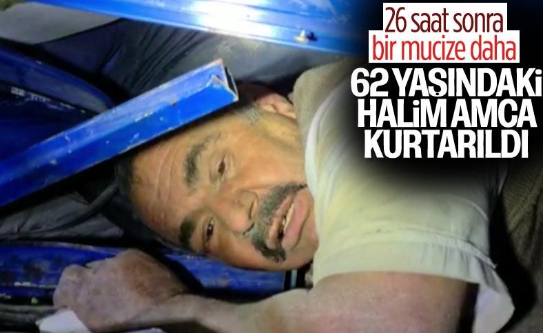 İzmir'de enkazdan bir kişi daha sağ olarak kurtarıldı