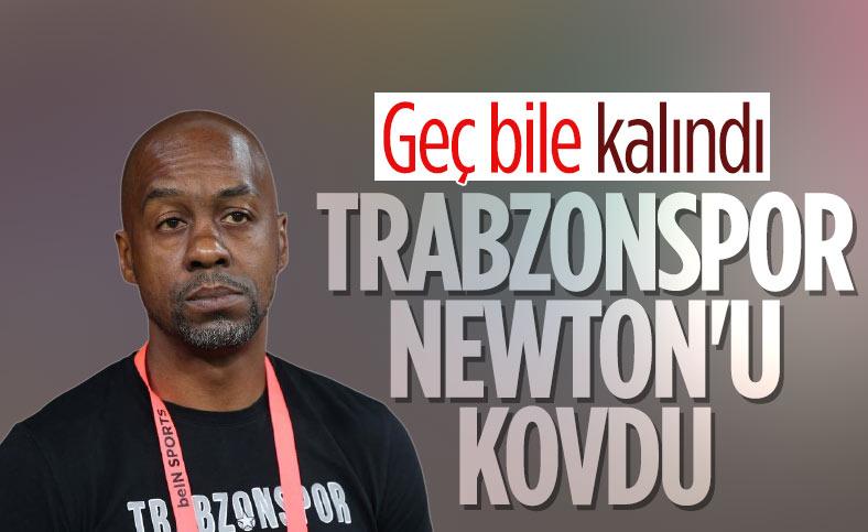 Trabzonspor, Eddie Newton'un görevine son verdi